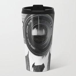 Faces of the Past: Camera Travel Mug
