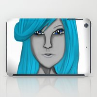 no face iPad Cases featuring Face by LCMedia
