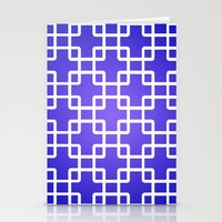 1d Stationery Cards featuring Pattern 1D by Robin Curtiss