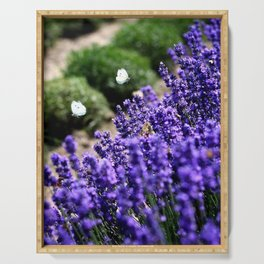 Lavender Love Serving Tray