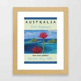 Art Travel Poster Gan Gan Framed Art Print
