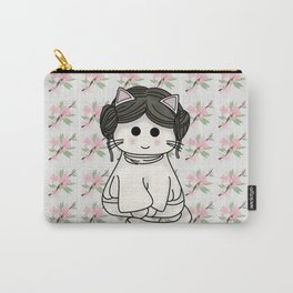 Princess Kitty-Leia Carry-All Pouch