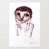 Occlusion Art Print