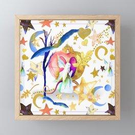 Starry Nights Framed Mini Art Print