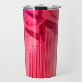 Pink Glass Travel Mug