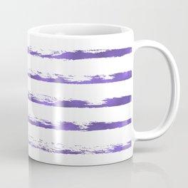 Ultraviolet brush strokes Coffee Mug