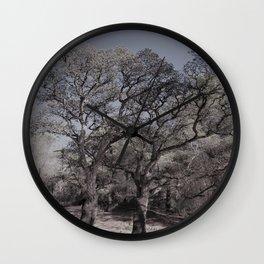 cork oak trees Wall Clock