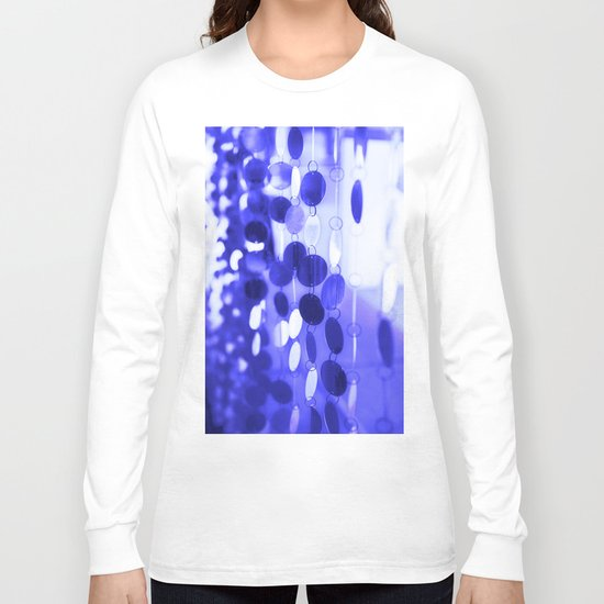GLAM CIRCLES #Blue #2 Long Sleeve T-shirt