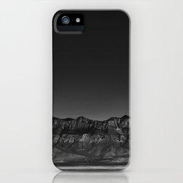 New Mexico Beauty #blackwhite iPhone Case