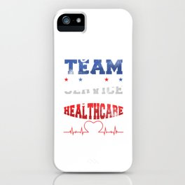 Healthcare Medicine Medical Laboratory Doctor Nurse Gift iPhone Case