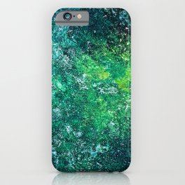 Color Fields: Mermaid Grotto iPhone Case