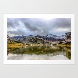 Lakes of Covadonga Art Print