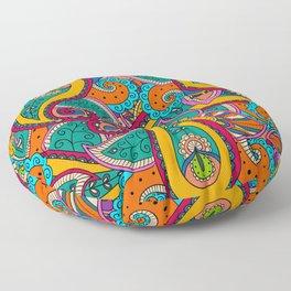 African Style No22 Floor Pillow