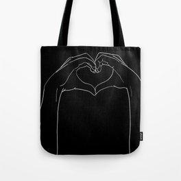 cœur Tote Bag