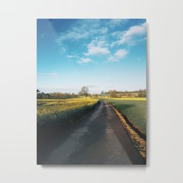 Early morning in derbyshire Metal Print