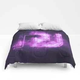 Israeli Shekel currency symbol. Shekel Sign. Monetary currency symbol. Abstract night sky background Comforters