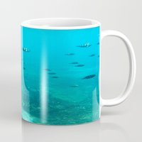 underwater Mugs featuring Underwater by Shereen Yap