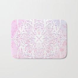Candyfloss Marble Mandala Bath Mat