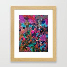 Disguised as Roses Framed Art Print
