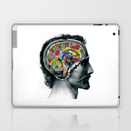 Brain colors fashion Jacob's Paris Laptop & iPad Skin