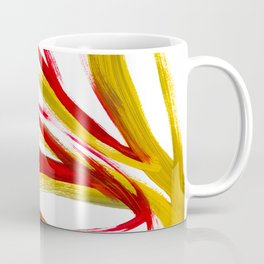 Flame Abstract Painting Coffee Mug