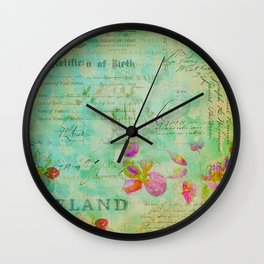 The Lady Jane Collection Wall Clock