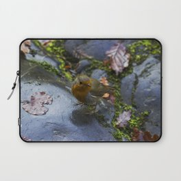 Robin Red Breast Laptop Sleeve