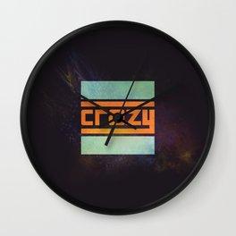 Crazy Wall Clock