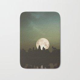 Angkor Wat Super Moon Bath Mat