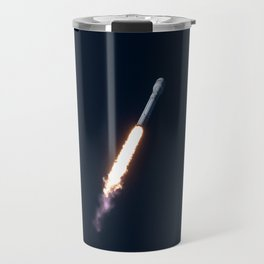 SpaceX Falcon 9 Tourism Poster Travel Mug
