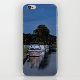 River Bure Coltishall at twilight iPhone Skin