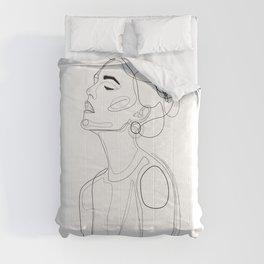 B Yellow Lip Comforters