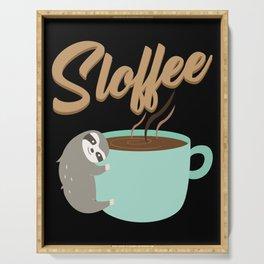 Sloffee | Coffee Sloth Serving Tray