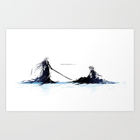 Demise Art Print