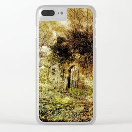Overgrown Clear iPhone Case