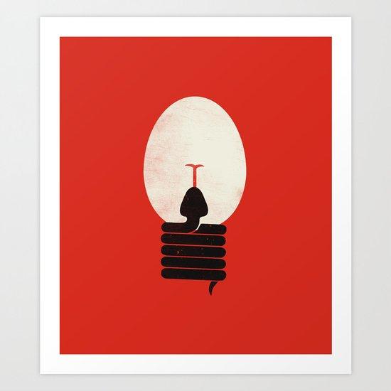 The Idea Eater Art Print