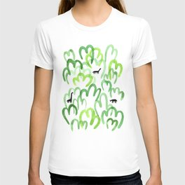 Animals in the forest T-shirt