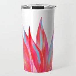 Sunny Agave Fringe Illustration Travel Mug