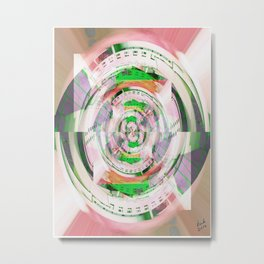 Diaphragm Metal Print