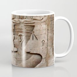 Horus and Temple of Edfu Coffee Mug