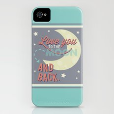 Love You to the Moon...and Back! Slim Case iPhone (4, 4s)