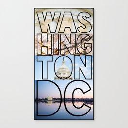Washington, DC Canvas Print