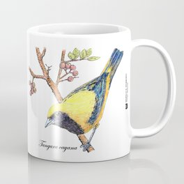 Brazilian bird - Tangara cayana Coffee Mug