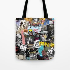 TROUBLE COLLAGE Tote Bag