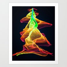 Rising To The Top Art Print