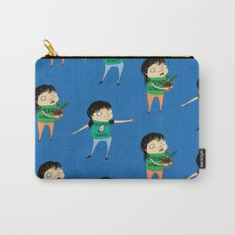 Rattail Steve Pattern Carry-All Pouch
