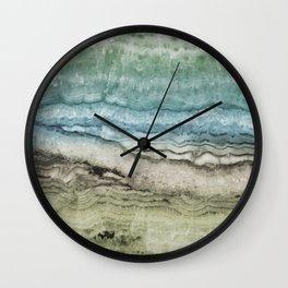 Mystic Stone Emerge Wall Clock