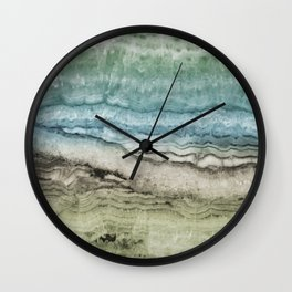 Mystic Stone Emerge Wall Clock