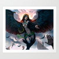 Sirens Feast  Art Print