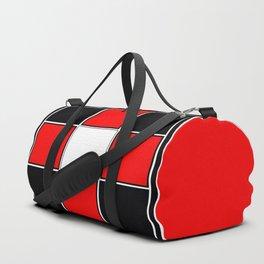 TEAM COLORS 3 ....RED , BLACK Duffle Bag